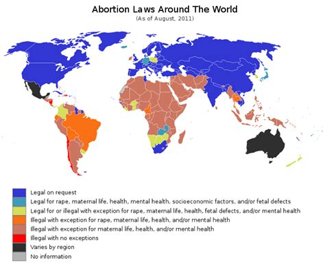 abortion map legal views laws agree both should woman legalized there very deemed