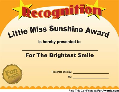 Free Funny Employee Awards Certificates