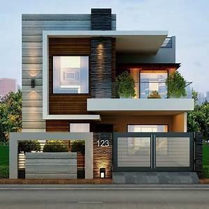 fachadas casas modernas 19 decoracion de interiores With the outstanding modern style homes inspiration