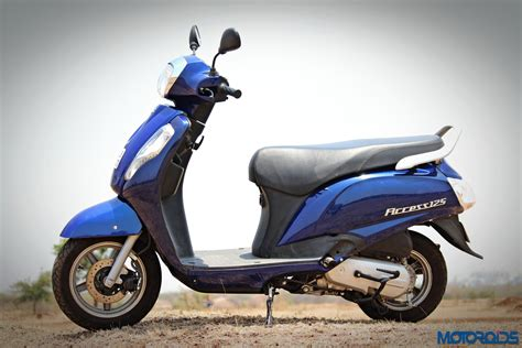 Suzuki Access Review by New Suzuki Access 125 Review Punchy Prudence Motoroids