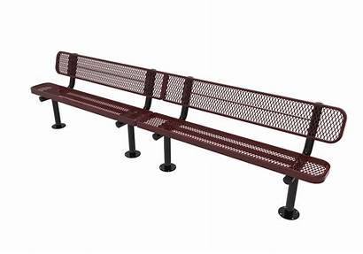 Bench Expanded Benches Metal Thermoplastic Surface Kay