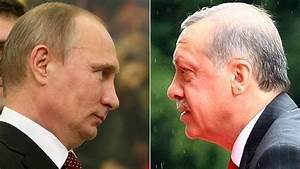 Turkey's Erdogan unnerves West with Putin visit - BBC News