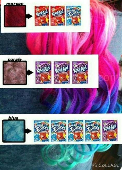 Best 25 Kool Aid Hair Dye Ideas On Pinterest How Hair