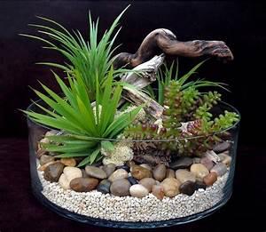 Plante D Intérieur Pas Cher : terrarium plantes grasses artificielles h15 d28 dario ~ Dailycaller-alerts.com Idées de Décoration