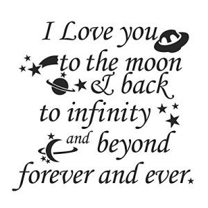 Love You Infinity Beyond Quotes