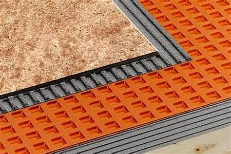 tile underlayment membrane vs backer board underlayment for tile floors gurus floor