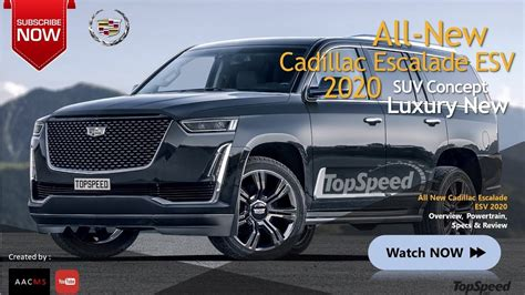 All New Cadillac Escalade 2020 by All New 2020 Cadillac Escalade Esv This Is So Amazingly