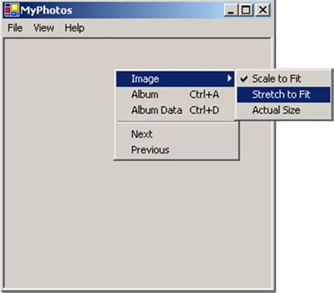 Control Template Context Menu by Windows Forms Programming With C Chapter 3 Menus