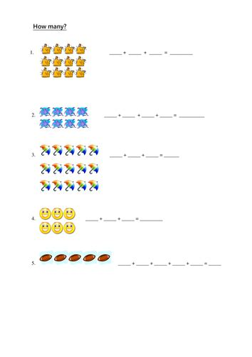 addition worksheets 187 repeated addition worksheets for