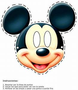 printable mouse mask template - printable mickey mouse mask this mask fun little ones