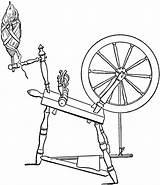 Spinning Wheel Clipart Diagram Cliparts Clip Flax Maleficent Etc Disney Usf Spinwheel Edu Medium sketch template