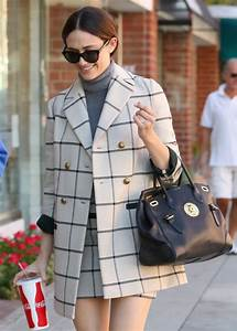 Emmy Rossum Is 100 Chic In Checkered Neutrals Steal Her