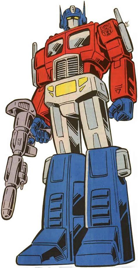 Optimus Prime - Transformers G1 version - Marvel Comics ...
