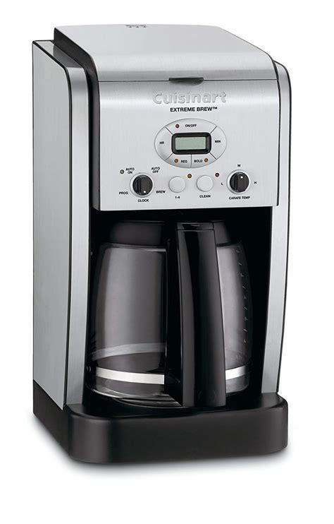 The machine is designed to suit that coffee enthusiast. Cuisinart Extreme Brew DCC-2650 12-Cup Coffee Maker - Nezmart