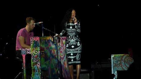 Coldplay Illuminati Coldplay Rihanna Umbrella Stade De