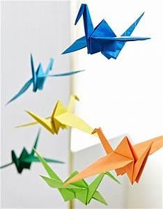 Mobile Basteln Origami : die 20 besten ideen zu tiere falten auf pinterest papier tiere origami tiere und papier falten ~ Orissabook.com Haus und Dekorationen