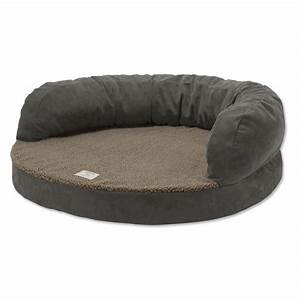 bolster dog bed bolster bed with memory foam orvis With orvis dog beds