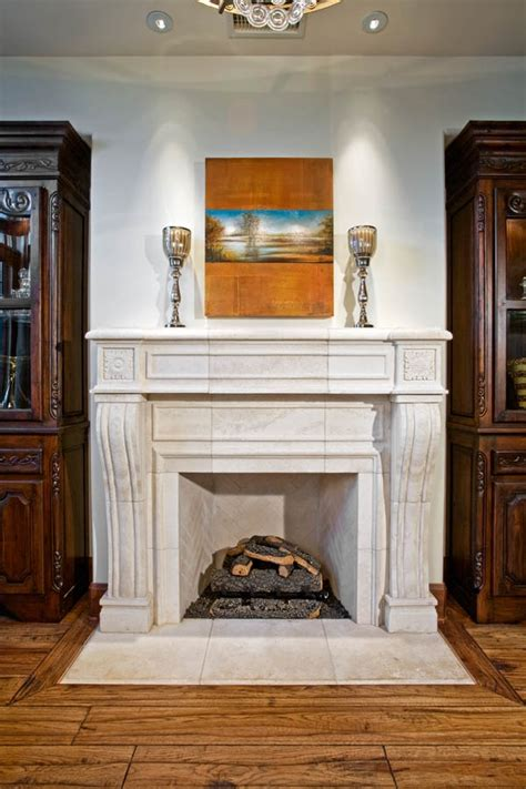 fireplaces hearths architectural stone materials