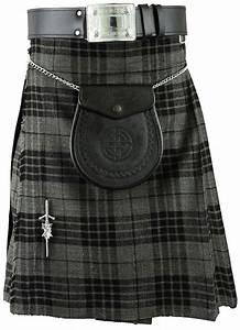 Grey Scottish Mens Kilt Tartan Kilts Traditional Highland dress | eBay