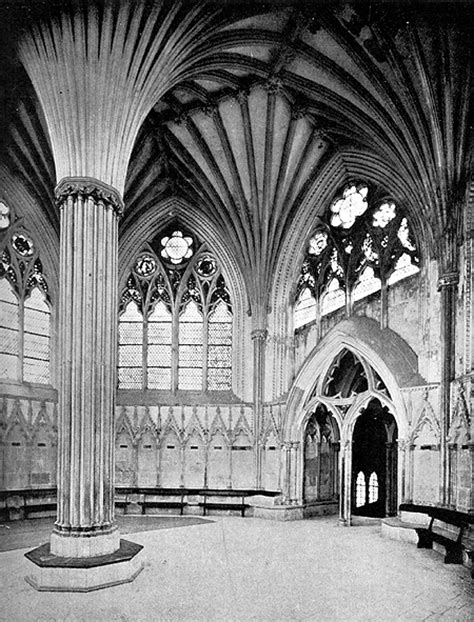 Art History by Laurence Shafe, Wells cathedral, chapter
