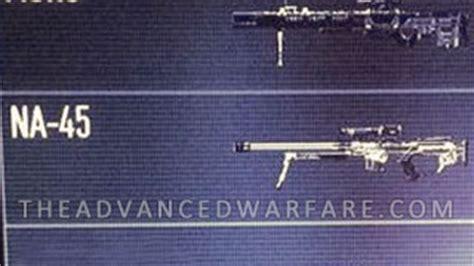 call  duty advanced warfare aw sniper rifles
