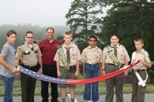 modern woodmen presents maury middle school american flag