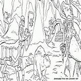 Narnia Chronicles Coloring sketch template
