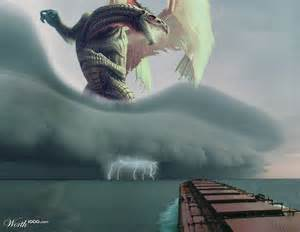 Bermuda Triangle Sea Monster