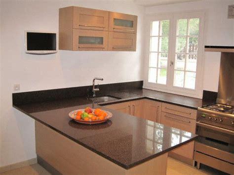 plan de travail cuisine en quartz cuisine plan de travail de cuisine moderne fonc en quartz
