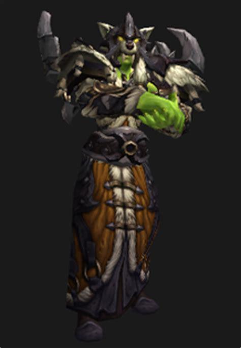 siege d orgrimmar warcraft wardrobe kor 39 kron shaman
