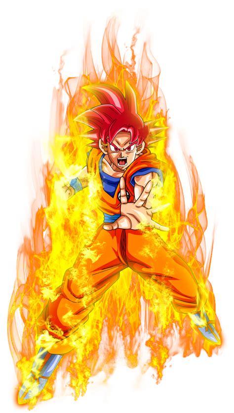 Goku ssjPower by jaredsongohan on DeviantArt