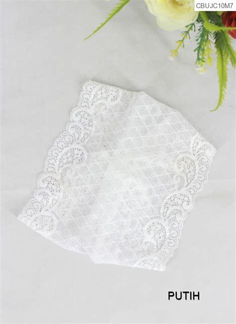 ciput bandana brokat warna  hijab murah batikunikcom