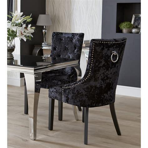 dita ring back velvet chair