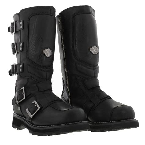 mens leather motorcycle boots harley davidson motocruz mens leather mad max style