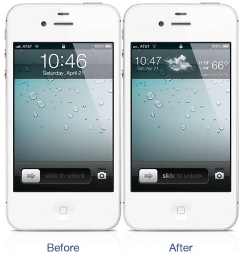 weather on iphone lock screen forecast weather forecast on iphone easily