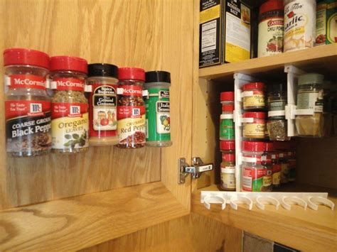 Spice Storage For Cupboards by Spicestor Organizer Rack 20 Cabinet Door Spice Free