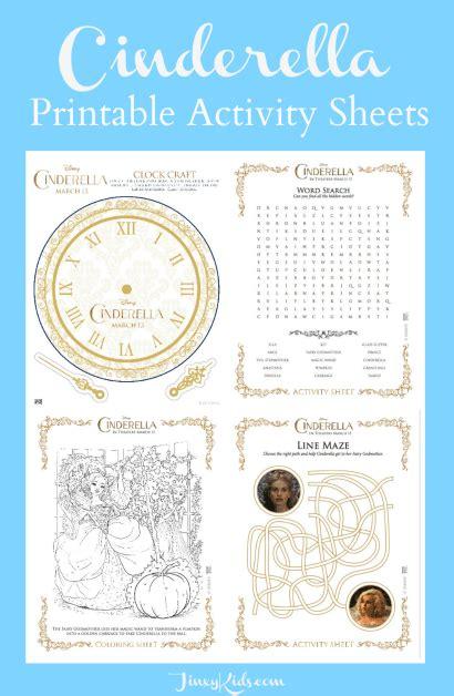 cinderella games for preschoolers cinderella printable activity sheets jinxy 517