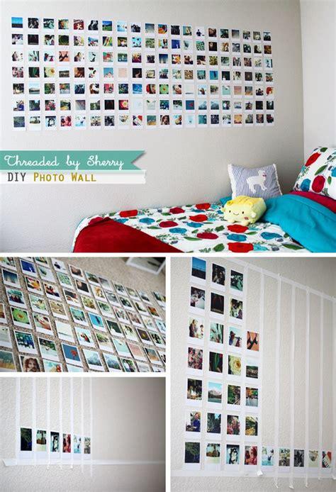 sherry lou studio  life fun diy photo wall