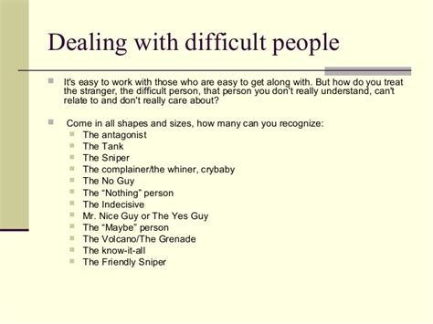 How To Deal With Difficult People Quotes