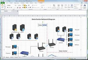 Microsoft Excel Network Diagram