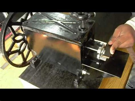leather embossing machine youtube
