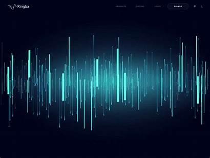 Interactive Animation Js Website Dribbble Telecommunication Animated