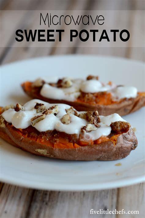 microwave sweet potato microwave baked sweet potatoes