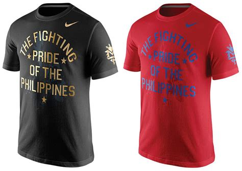 nike manny pacquiao philippines pride shirt fighterxfashion