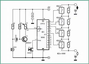 Stepped Volume Control Circuit Project