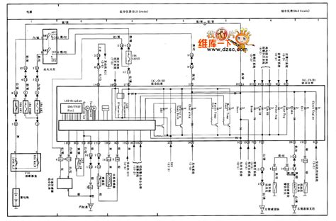 tianjin vios combination instrument circuit diagram basic circuit circuit diagram seekic