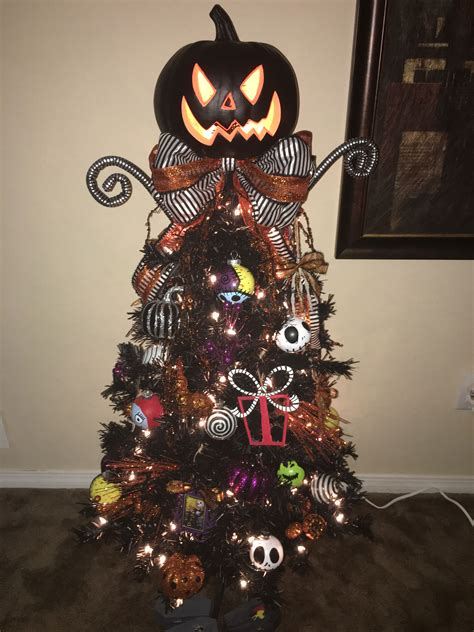 Nightmare Before Decorations by Nightmare Before Tree Diy Hoe In 2019