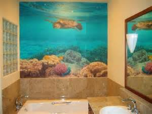wall decorating ideas for bathrooms 3 techniques give bathroom decorating ideas for walls home improvement