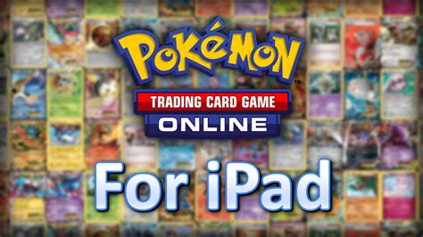 the pok 233 mon tcg online comes to ipad youtube
