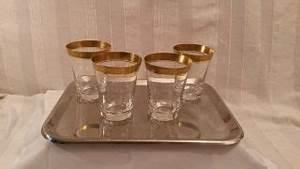 Wassergläser Mit Stiel : glas kristall kristall gl ser antiquit ten ~ Buech-reservation.com Haus und Dekorationen